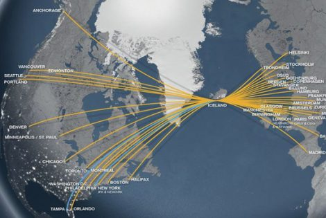 Icelandair Announces Service from Tampa Bay and Philadelphia